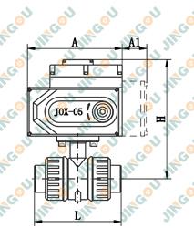 电动塑料球阀(标准型)