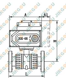 电动塑料球阀(法兰式标准型)