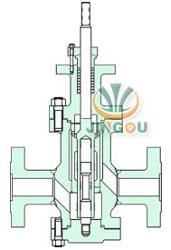 多級降壓電動調節閥 (法蘭連接)