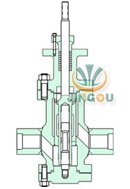 多級降壓電動調節閥 (焊接式)