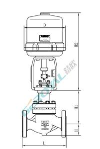 ZRHJP精小型电动调节阀 (配引进型381执行器)