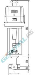 電動小流量調節閥 (配引進型PS執行器)