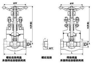 螺纹锁紧环换热器结构图